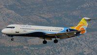 9A-BTD @ LDDU - TDR Fokker100 landing at LDDU RWY30 - by Avioradar.hr