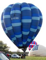 G-CCXD @ X3RI - Sackville Lodge Grass Roots Balloon Meet - by Keith Sowter