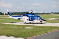 OH-HCR @ EDDV - First Lananding in HAF with a AW139
