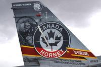 188928 @ KBOI - Right tail fin.  410 Sq., Cold Lake, Alberta, Canada. - by Gerald Howard
