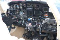 N47815 @ PTK - Seneca cockpit