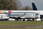 G-CELD @ EGBP - in the scrapping area at Kemble - by Chris Hall