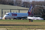 PT-MZC @ EGBP - being parted out by ASI at Kemble - by Chris Hall