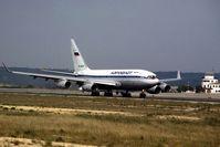 RA-96007 @ LEPA - Aeroflot take off ( wfu 30 April 2014 stored Sheremetyevo) - by Jean Goubet-FRENCHSKY