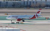 C-FYNS @ KLAS - Airbus A319 - by Mark Pasqualino