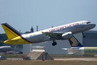 D-AKNV @ LFBO - Take off