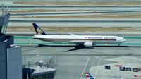 9V-SWN @ KSFO - Shot taken from new tower at SFO. 2017. - by Clayton Eddy