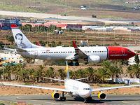 LN-DYC @ GCLP - The Norwegian Plane - by Manuel EstevezR