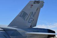 """168470 @ KBOI - VFA-14 """"Tophatters"""", Carrier Air Wing 9, NAS Lemoore, CA - by Gerald Howard"""