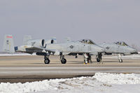 78-0619 @ KBOI - A-10Cs under going pre flight checks. - by Gerald Howard