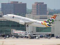 VP-CKZ @ MIA - Cayman 737-300