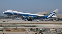 VQ-BLQ @ LAX - Air Bridge Cargo