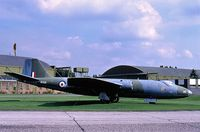 WT520 @ RAF - Just before being Cut up in 1991 at RAF Swinderby - by Alan W Holliday
