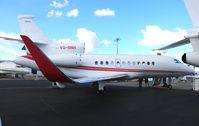 VQ-BNH @ ORL - Falcon 900LX