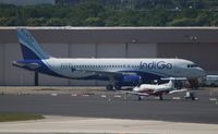 VT-IDZ @ FLL - IndiGO A320 - not the best quality picture, but not something you see every day on this side of the world