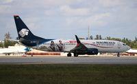 XA-AMJ @ MIA - Aeromexico - by Florida Metal