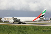 A6-ENV @ LMML - B777 A6-ENV Emirates Airlines - by Raymond Zammit