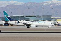 C-GWBU @ KLAS - Boeing 737-800 - by Mark Pasqualino
