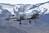78-0619 @ KBOI - On final for RWY 10R. 190th Fighter Sq., 124th Fighter Wing, Idaho ANG. - by Gerald Howard