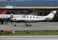 N111DY @ KSQL - EPIC LT KIT LLC (Bend, OR) Blue Planet Aviation Epic LT on visitor's ramp @ San Carlos Airport, CA - by Steve Nation