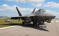 01-4019 @ LAL - F-22A - by Florida Metal