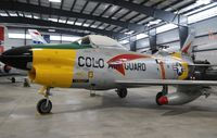 52-3653 @ KPUB - North American F-86D - by Mark Pasqualino
