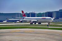 HB-JMB @ ZRH - Swiss International Airlines Airbus A340-313 Airplane, Zurich-Kloten International Airport - by miro susta