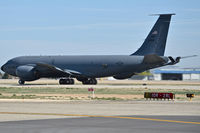58-0088 @ KBOI - Taking off on RWY 28L to refuel A-10Cs flying to Middle East. 171st Air Refueling Sq., 127th Wing, Michigan ANG, Selfridge ANG Base. - by Gerald Howard