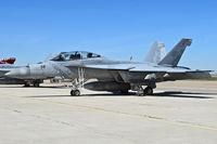 "166892 @ KBOI - Parked on south GA ramp.  VAF-102 ""Diamondbacks"", NAF Atsugi, Japan. (CVW-5  USS Ronald Reagan) - by Gerald Howard"