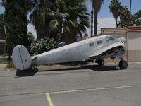 N11863 @ KRIR - 1951 Beech C-45G (ex USAF 51-11863) minus wings + engines @ Flabob Airport, Riverside, CA - by Steve Nation
