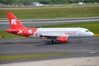 D-ABGS @ EDDL - Airbus A319-112 AB BER Air Berlin  OLT Express Poland livery - 3865 -D-ABGS - 26.05.2015 - DUS - by Ralf Winter