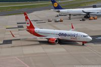 D-ABME @ EDDL - Boeing 737-86J(W) - AB BER Air Berlin 'One World' - 37766 - D-ABME - 26.05.2015 - DUS - by Ralf Winter
