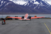 C-GAWI @ ENSB - Polar 5 on a parking position at the airport of Longyearbyen/Svalbard (LYR). It is the northernmost airport with scheduled flights in the world. - by Tomas Milosch