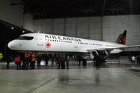 C-GJWI - Air Canada introduces new livery,Feb.9,2017
