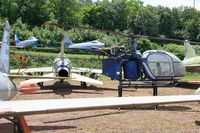 1247 - Sud SE-3130 Alouette II, Preserved at Savigny-Les Beaune Museum - by Yves-Q