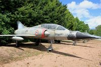 216 - Dassault Mirage IIIB, Preserved at Savigny-Les Beaune Museum - by Yves-Q