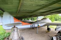 185 - De Havilland DH-115 Vampire T.55, Preserved at Savigny-Les Beaune Museum - by Yves-Q