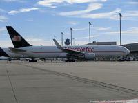 C-FGSJ @ EDDK - Boeing 767-39HER.BCF(W) - W8 JJT CargoJet Airways 'Purolator' - 26256 - C-FGSJ - 08.11.2015 - CGN - by Ralf Winter