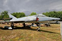 166 - Dassault Etendard IV.P, Preserved at Savigny-Les Beaune Museum - by Yves-Q