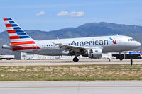 N752US @ KBOI - Reverse thrusters out before the nose wheel touches down. - by Gerald Howard