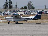 N448ER @ KRAL - ATP 1998 Cessna 172R Skyhawk taxiing @ Riverside MAP, CA home base