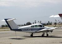 N800AD @ KRAL - California Aviation Services 1978 Beech 76 Duchess @ Riverside MAP, CA home base