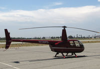 N146PD @ KRAL - California Aviation Services 2005 Robinson R44 II on a 102F day @ Riverside MAP, CA home base