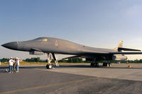 85-0091 @ EGVA - The deadly bomber with the nicest silhouette at RIAT'99. Crashed during a routine training mission from Ellsworth Air Force Base Aug 19th, 2013 170 miles southeast of Billings, Montana. All four crew members ejected savely and landed with minor injuries. - by Grimmi