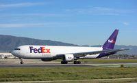 N135FE @ KONT - Boeing 767-300F - by Mark Pasqualino