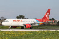 9H-AEN @ LMML - A320 9H-AEN Air Malta - by Raymond Zammit