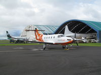 ZK-PLS @ NZAA - nice visitor from south island - by magnaman