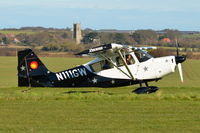 N111GW @ X3CX - Just landed at Northrepps. - by Graham Reeve