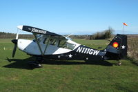 N111GW @ X3CX - Parked at Northrepps. - by Graham Reeve