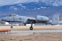 78-0703 @ KBOI - Landing roll out on RWY 28L.  190th Fighter Sq., 124th Fighter Wing, Idaho ANG. - by Gerald Howard